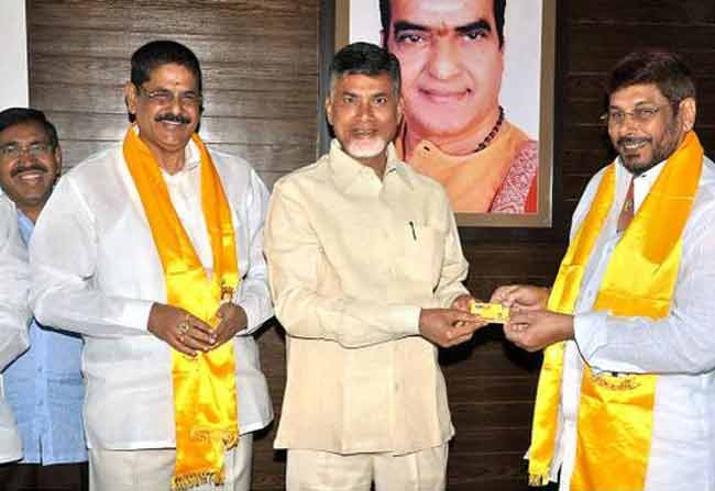 Babu Pleasing Anam Brothers In TDP