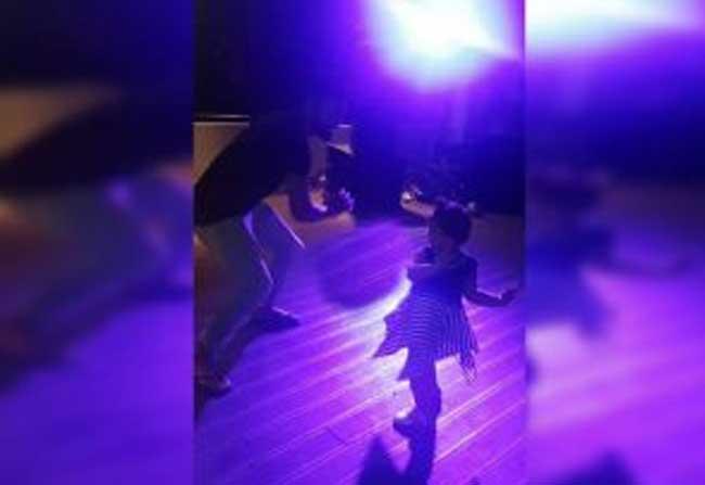 Kohli Dancing With Shamis Daughter