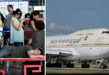 Saudi Arabian Airlines Making Troubles