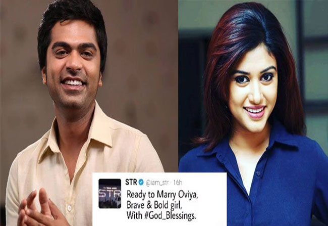 Simbu to marry Oviya