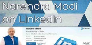 PM Narendra Modi leads in LinkedIn India Power Profile List 2017