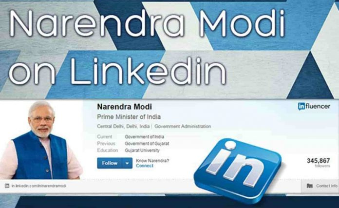 PM Narendra Modi leads in LinkedIn India Power Profile List 2017