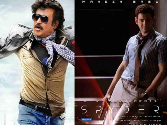 Rajinikanth in Mahesh Spyder Movie Audio Launch