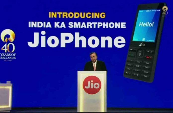 2 crores of Jio Phones booked in 2 days