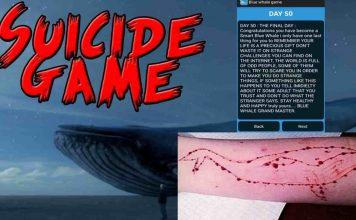 Death Game Blue Whale Details