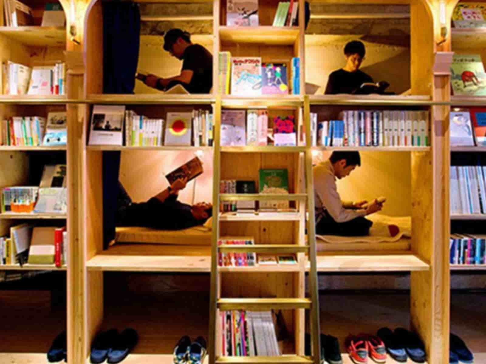 Hotel Room With Bunk Beds In Japan