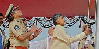 AP CM Chandrababu Independence Day 2017 Flag Hosting in Tirupati