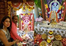karnataka minister devotion Varalakshmi vratham