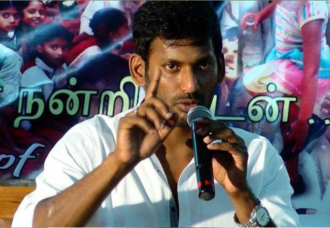 Hero Vishal To Enter Politics