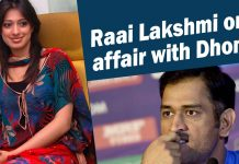 Lakshmi Rai clarifies about her affairs