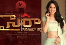 Pragya Jaiswal Sye Raa Narasimha Reddy Movie