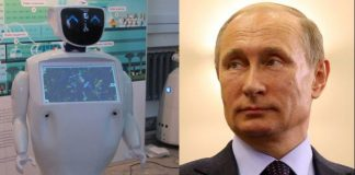 Promobot Robot promoter