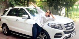 Rakul Preet with her new car