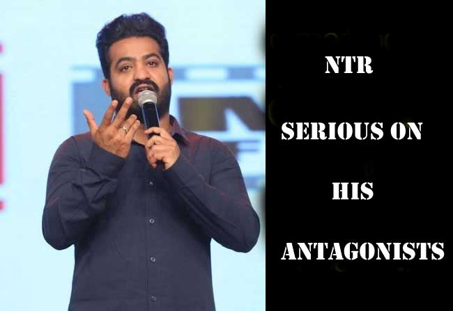 Tarak Serious on his Antagonists