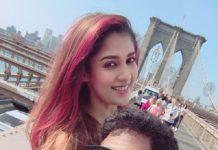 Vignesh and Nayanthara in New York