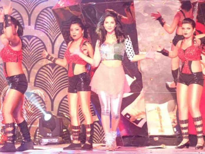 Sunny Leone performance at Pichi Reddy Birthday Bash in Hyderabad