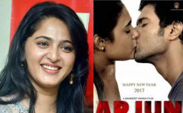 Anushka Shetty Compliments Arjun Reddy in Social Media