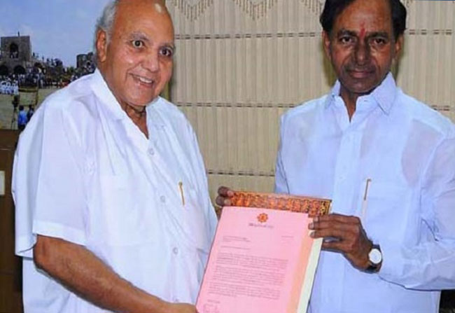 Ramoji Rao Appreciation Letter to Telangana CM KCR