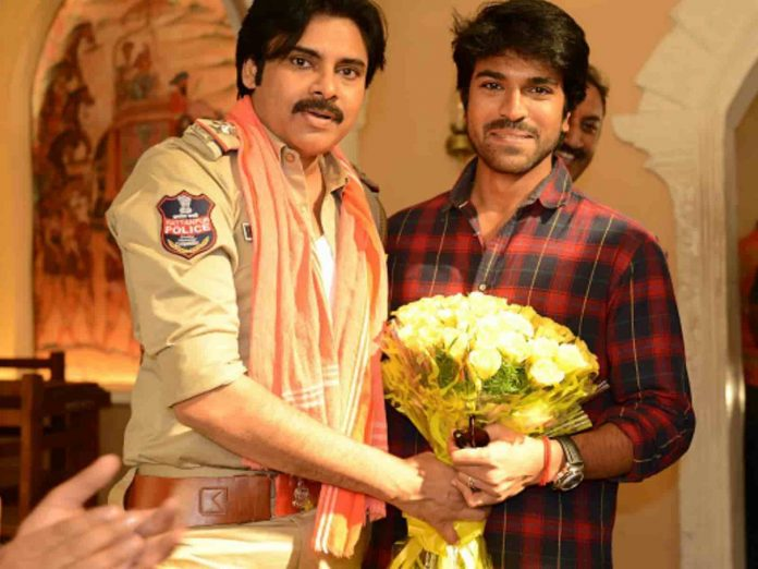 Ram Charan Tej Birthday Wishes to Pawan Kalyan on Facebook