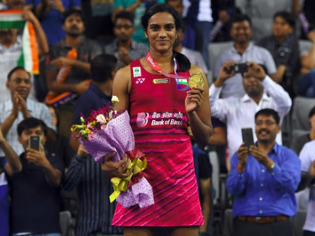 Twitter Appreciations for PV Sindhu to win in Korea Open Finals