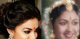 Keerthi Suresh look in Mahanati movie