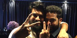 Mega Hero Ram Charan Tej Appreciating Jr NTR