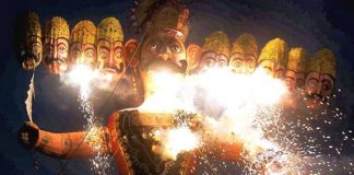 Uttar Pradesh different tradition on Dasara Ravana burning