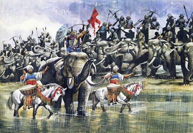 Alexander Army Greeks Served Indian Army Clear Details