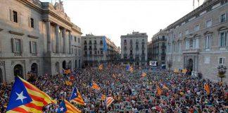 Catalonia parliament declares independence