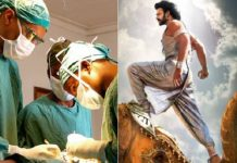 Bahubali during brain surgery