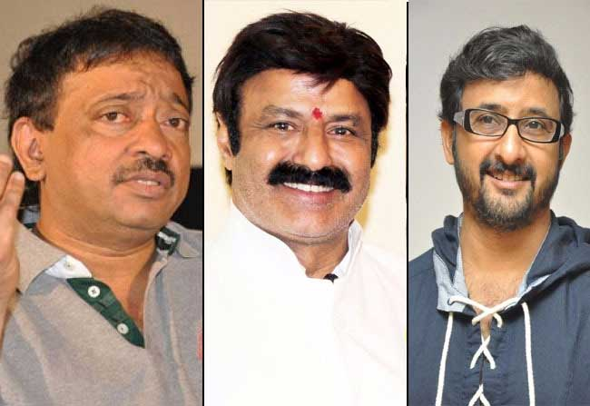 Teja Vs RGV Vishva Vikhyatha Nata Sarva Bhoumudu, Rajakiya Dhurandhara NTR Biopic mvoie is been cometation the guru RGV an dhis desciple Teja. The film Lakshmis NTR is directed by the teacher Ram Gopal Varma, Whereas, Teja announced afficially that he is directing NTR's biopic in social media. Varma has already completed the script and choosing the actors for the characters Hoewver, Teja and co are more fast than RGV. Balayya and Teja Discussions have also been completed on the script. RGV is planning to open the movie on Febraury 2018 whereas Teja is going to start in January. Moreover, they comeptes even in the moie release. Varma plans the movie release in Otober, and Teja plans a bit before the Lakshmis NTR. However, Ramu and Teja are also aware that content will compete the movies.