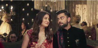 Virat Kohli Anushka Sharma advertisement viral in social media