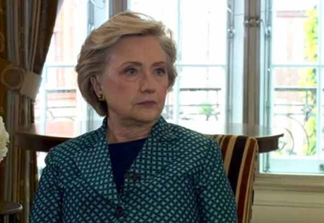 Hillary Clinton compares Donald Trump with Harvey Weinstein