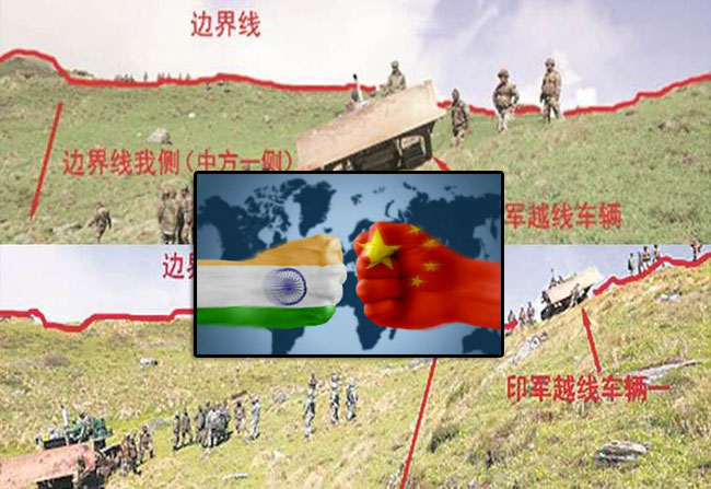 India China Doklam Controversy again started