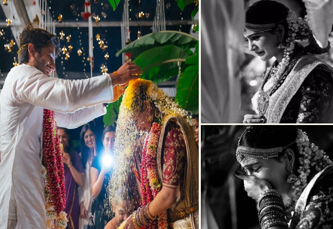 Image result for samantha crying in her wedding