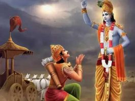 When Arjuna questioned Lord Krishna, the Paramathma