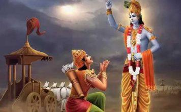 When Arjuna questioned Lord Krishna, the Paramathma