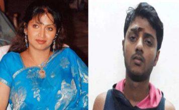 Actress Bhuvaneshwari son arrested