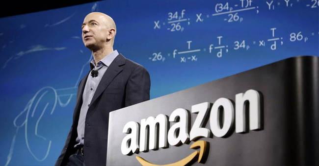 Amazon CEO Jeff Bezos Net Worth Is 6,46,649 Crores