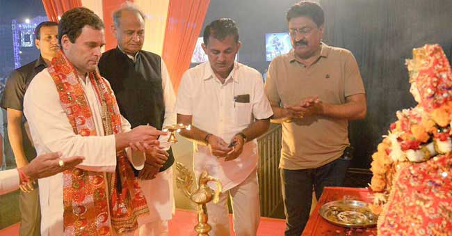 BJP says 'Rahul took the path of Aurangzeb and Khilji'