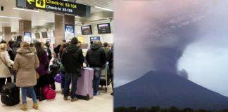 Flash!Flash! Volcano Erupts in Bali Indonesia