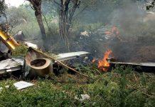 IAF Kiran aircraft with woman pilot crashes