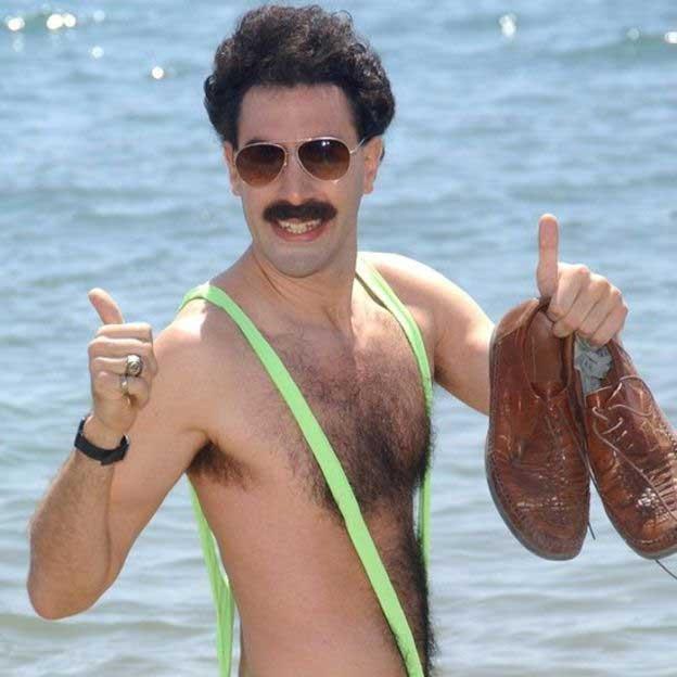 Mankini-wearing 'Borat' tourists arrested in Kazakhstan