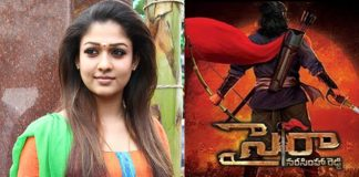 Nayantara demands '3 times more' for Sye Raa