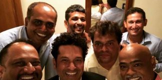 Sachin and Kambli re-united