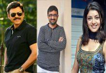 Venkatesh Movie With Teja Confimed Kajal As Heroine