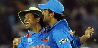 dhoni always reminded him of my father says sachin tendulkar
