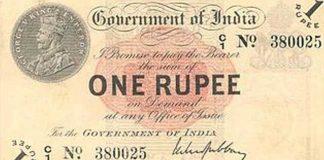 one rupee note turns 100 years