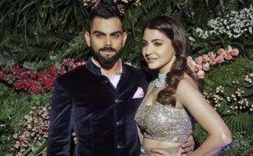 Virat Kohli's and Anushka Sharma's Reception