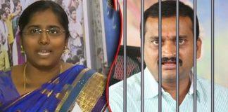 Bandi Punyaseela asks for Bandla Ganesh's arrest